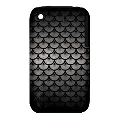 Scales3 Black Marble & Gray Metal 1 (r) Iphone 3s/3gs