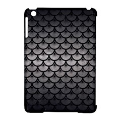 Scales3 Black Marble & Gray Metal 1 (r) Apple Ipad Mini Hardshell Case (compatible With Smart Cover)