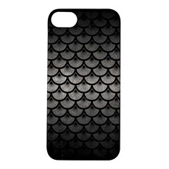 Scales3 Black Marble & Gray Metal 1 (r) Apple Iphone 5s/ Se Hardshell Case