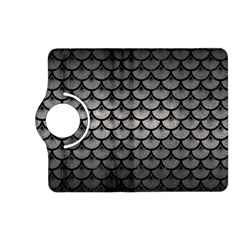 Scales3 Black Marble & Gray Metal 1 (r) Kindle Fire Hd (2013) Flip 360 Case