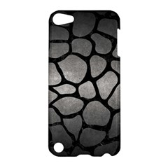 Skin1 Black Marble & Gray Metal 1 Apple Ipod Touch 5 Hardshell Case