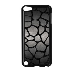 Skin1 Black Marble & Gray Metal 1 Apple Ipod Touch 5 Case (black)