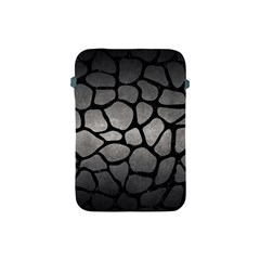 Skin1 Black Marble & Gray Metal 1 Apple Ipad Mini Protective Soft Cases