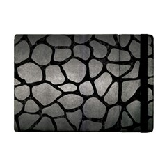 Skin1 Black Marble & Gray Metal 1 Ipad Mini 2 Flip Cases