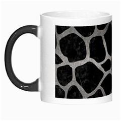 Skin1 Black Marble & Gray Metal 1 (r) Morph Mugs