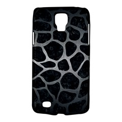 Skin1 Black Marble & Gray Metal 1 (r) Galaxy S4 Active