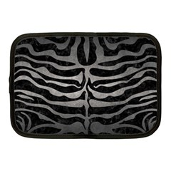 Skin2 Black Marble & Gray Metal 1 Netbook Case (medium)