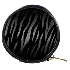 Skin3 Black Marble & Gray Metal 1 Mini Makeup Bags