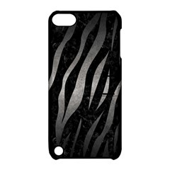 Skin3 Black Marble & Gray Metal 1 Apple Ipod Touch 5 Hardshell Case With Stand