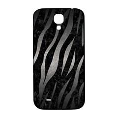 Skin3 Black Marble & Gray Metal 1 Samsung Galaxy S4 I9500/i9505  Hardshell Back Case