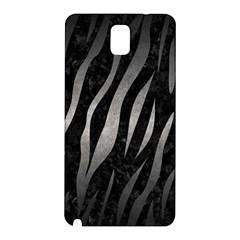 Skin3 Black Marble & Gray Metal 1 Samsung Galaxy Note 3 N9005 Hardshell Back Case