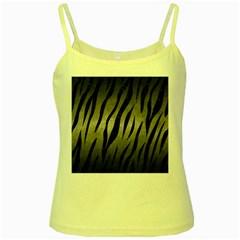 Skin3 Black Marble & Gray Metal 1 (r) Yellow Spaghetti Tank