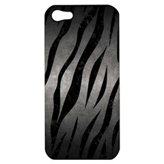 Skin3 Black Marble & Gray Metal 1 (r) Apple Iphone 5 Hardshell Case