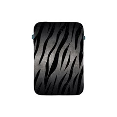 Skin3 Black Marble & Gray Metal 1 (r) Apple Ipad Mini Protective Soft Cases