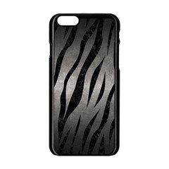 Skin3 Black Marble & Gray Metal 1 (r) Apple Iphone 6/6s Black Enamel Case