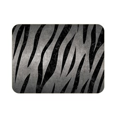 Skin3 Black Marble & Gray Metal 1 (r) Double Sided Flano Blanket (mini)