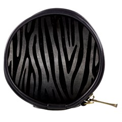 Skin4 Black Marble & Gray Metal 1 Mini Makeup Bags