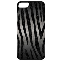 Skin4 Black Marble & Gray Metal 1 Apple Iphone 5 Classic Hardshell Case