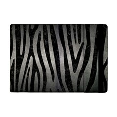 Skin4 Black Marble & Gray Metal 1 Ipad Mini 2 Flip Cases