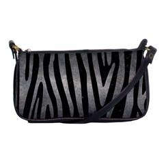 Skin4 Black Marble & Gray Metal 1 (r) Shoulder Clutch Bags