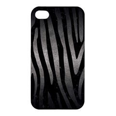 Skin4 Black Marble & Gray Metal 1 (r) Apple Iphone 4/4s Premium Hardshell Case