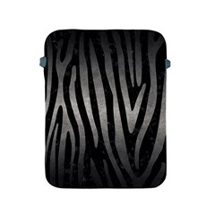 Skin4 Black Marble & Gray Metal 1 (r) Apple Ipad 2/3/4 Protective Soft Cases