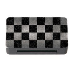 Square1 Black Marble & Gray Metal 1 Memory Card Reader With Cf