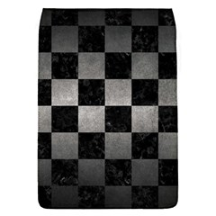 Square1 Black Marble & Gray Metal 1 Flap Covers (s)