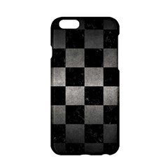 Square1 Black Marble & Gray Metal 1 Apple Iphone 6/6s Hardshell Case