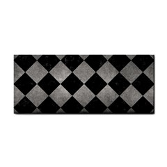 Square2 Black Marble & Gray Metal 1 Cosmetic Storage Cases