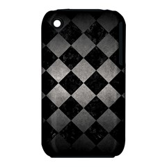 Square2 Black Marble & Gray Metal 1 Iphone 3s/3gs