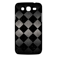 Square2 Black Marble & Gray Metal 1 Samsung Galaxy Mega 5 8 I9152 Hardshell Case