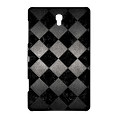 Square2 Black Marble & Gray Metal 1 Samsung Galaxy Tab S (8 4 ) Hardshell Case