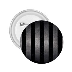 Stripes1 Black Marble & Gray Metal 1 2 25  Buttons