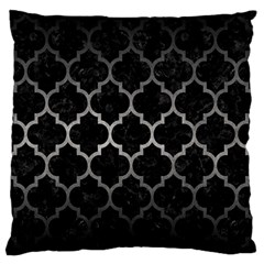 Tile1 Black Marble & Gray Metal 1 Standard Flano Cushion Case (one Side)