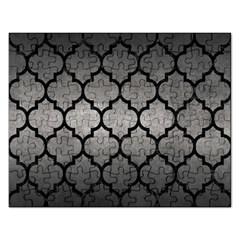 Tile1 Black Marble & Gray Metal 1 (r) Rectangular Jigsaw Puzzl