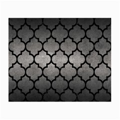 Tile1 Black Marble & Gray Metal 1 (r) Small Glasses Cloth (2 Side)