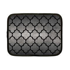 Tile1 Black Marble & Gray Metal 1 (r) Netbook Case (small)