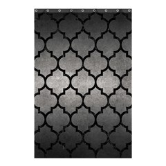 Tile1 Black Marble & Gray Metal 1 (r) Shower Curtain 48  X 72  (small)