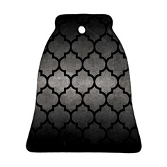 Tile1 Black Marble & Gray Metal 1 (r) Ornament (bell)