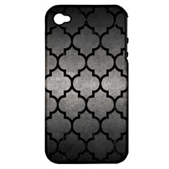 Tile1 Black Marble & Gray Metal 1 (r) Apple Iphone 4/4s Hardshell Case (pc+silicone)
