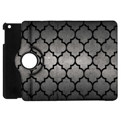 Tile1 Black Marble & Gray Metal 1 (r) Apple Ipad Mini Flip 360 Case