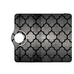 Tile1 Black Marble & Gray Metal 1 (r) Kindle Fire Hdx 8 9  Flip 360 Case