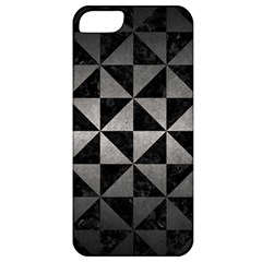 Triangle1 Black Marble & Gray Metal 1 Apple Iphone 5 Classic Hardshell Case
