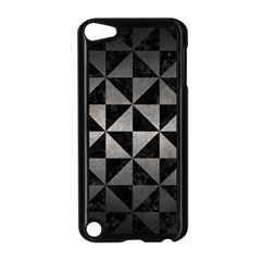 Triangle1 Black Marble & Gray Metal 1 Apple Ipod Touch 5 Case (black)