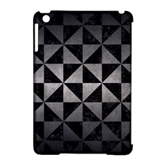 Triangle1 Black Marble & Gray Metal 1 Apple Ipad Mini Hardshell Case (compatible With Smart Cover)