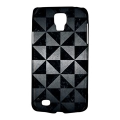 Triangle1 Black Marble & Gray Metal 1 Galaxy S4 Active
