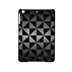 Triangle1 Black Marble & Gray Metal 1 Ipad Mini 2 Hardshell Cases