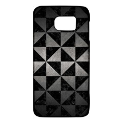 Triangle1 Black Marble & Gray Metal 1 Galaxy S6