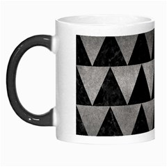 Triangle2 Black Marble & Gray Metal 1 Morph Mugs